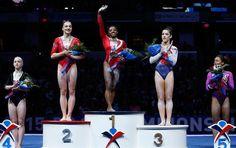 ICYMI: Simone Biles Owns the Gymnastics World Right Now - SELF