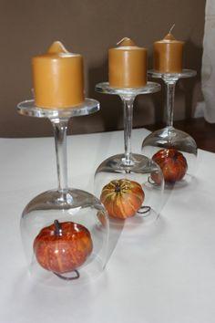 Herbstdeko Ideen - farbenfrohe Tischdeko und andere Bastelideen