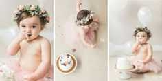 Peony Bud and Greenery Flower Crown  Pink by LizzieLuluandCo   First Birthday Floral Wreath, Cake Smash, Photoshoot Inspiration, Balloons, Tutu