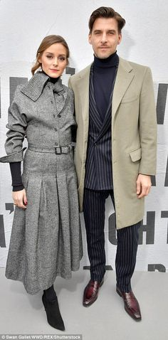 Style savvt: Fashionista Olivia Palermo and her husband Johannes Huebl looked sensational in their complementing looks - February 27, 2018