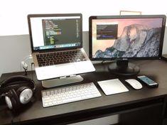 Mac Setup: The Dual-Screen Desk of a Software Engineer - Mac Computer Desktop - Ideas of Mac Computer Desktop - Mac Setup: The Dual-Screen Desk of a Software Engineer