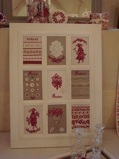 Fenêtre sur rouge et blanc by Lapichon, via Flickr