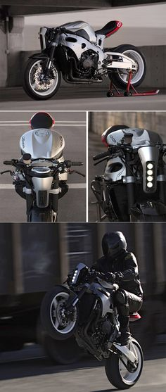 """Turn your CBR1000rr into a """"cafe fighter"""""""