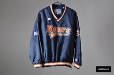 Vintage Starter - Chicago Bears Windbreaker Jacket - 1980s