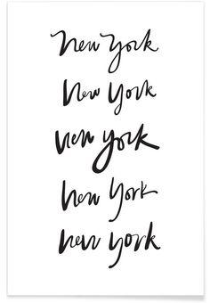 New York als Premium Poster von Kristen Polsinelli | JUNIQE