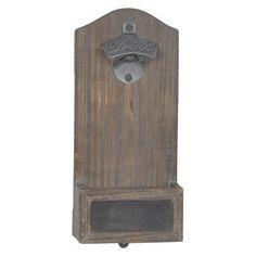 Vintage Mounted Bottle Opener  Wood *** Click on the image for additional details.