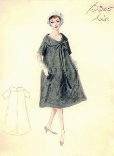Dior Trapeze Dress