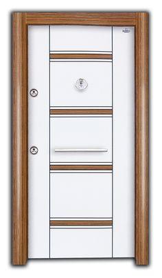 Steel Door Kehribar Er-678