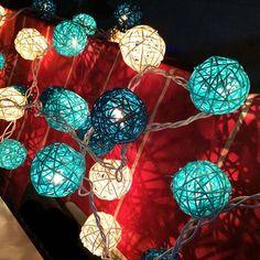 (33.29$)  Know more  - Takraw Christmas String Light Luminaria 35 LED Chandelier Luminarias Para Sala De Jantar Decoration De Noel Navidad Lamp Twinkle