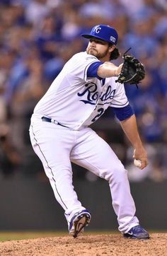 16e19866f Kansas City Royals pitcher Brandon Finnegan pitches in the tenth inning  during Tuesday s wildcard playoff baseball