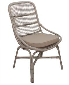 Pico White Rattan Armchair & Cushion – Allissias Attic & Vintage French Style