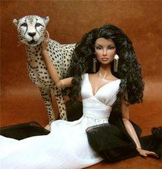 A Reimagined Fashion Doll Barbie I, Black Barbie, Barbie World, Barbie And Ken, Hello Barbie, Barbie Style, Hello Dolly, Barbie Dress, Fashion Royalty Dolls