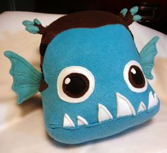 Minion Plush from Dreamworks Megamind Stuffed by JanellesPlushies, $80.00