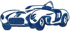 Bugatti free machine embroidery design. Machine embroidery design. www.embroideres.com