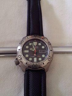 Citizen eco drive titanium promaster 300m diver s watch what 39 s the time pinterest watches - Citizen titanium dive watch ...