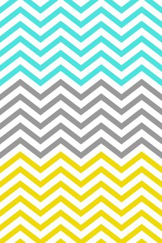 blue, gray, gold chevron wallpaper