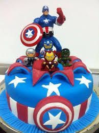 Image result for captain america cake
