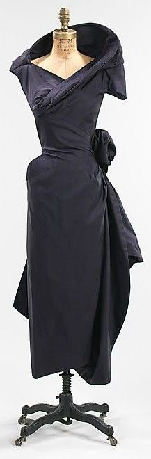 Charles James 1952 Silk Gown