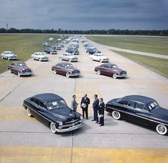 1950s Ford test track