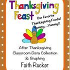 Freebie!! :) This is a cute little after Thanksgiving classroom graphing & data analysis activity.