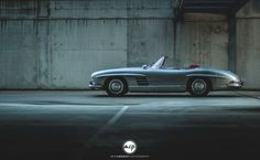 One word: Legend! The Mercedes-Benz 300 SL Roadster photographed by @mikecrawatphotography #mercedes #mercedesbenz #love #300sl #roadster #mbcars #silver #classic #vintage #carlifestyle #exotic #mbfanphoto