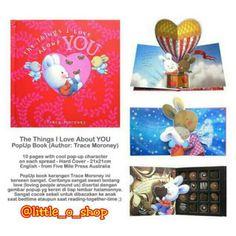 Saya menjual The Things I Love About You PopUp Book seharga Rp195.000. Dapatkan produk ini hanya di Shopee! http://shopee.co.id/littleoshop/1126552 #ShopeeID