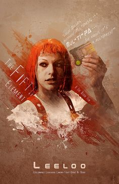 Leeloo Dallas - The Fifth Element - DigitalTheory