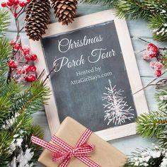 Aqua Christmas, Christmas Porch, Rustic Christmas, Simple Christmas, Vintage Christmas, Christmas Crafts, Winter Porch Decorations, Front Door Christmas Decorations, Outdoor Decorations