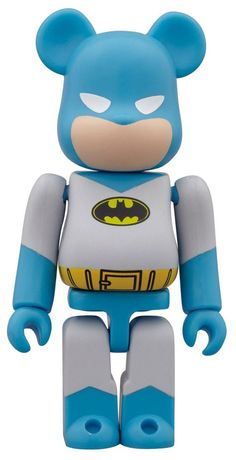 DC Comics x Medicom x Bearbrick. Not much longer to wait now until we are all sat in a dark room enjoying the final B.man installment from Christopher Nolan. So this limited edition Batman Bearbrick couldn't be coming at a better time...coincidence?.. yeah right!