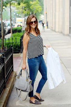 jillgg's good life (for less) | a west michigan style blog: my everyday style: a white blazer!
