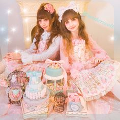 IOS application * Alice Holic * release ! Japanese:https://aliceholic.com/  English:http://en.aliceholic.com/  * Official online retailer * Wunderwelt Fleur * https://www.wunderwelt.jp/fleur  *Japanese Vintage Lolita clothing shop Wunderwelt* https://www.wunderwelt.jp/  *Lolita Fashion Information Blog* http://www.wunderwelt.jp/libre/en/