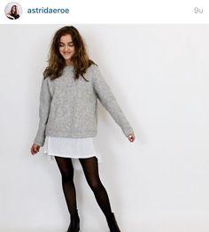 Astrid Olsen • Outfit • Black/White/Grey •
