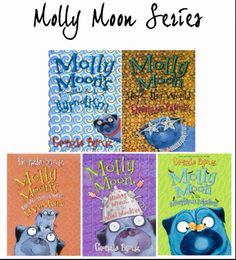 Molly Moon brings back memories of when I was 9 years old... Beautifully written, funny and quirky. For best results, read with a ketchup sandwich and a glass of concentrated orange squash at hand ;)