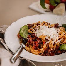 Patarummut sinihomejuustolla | Kokit ja Potit -ruokablogi Spaghetti, Ethnic Recipes, Food, Essen, Meals, Yemek, Noodle, Eten