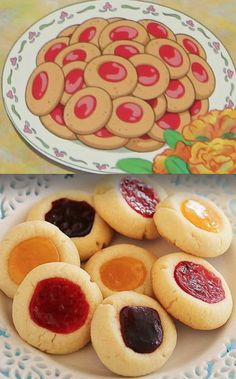 Thumbprint cookies from Studio Ghibli's short film Treasure Hunting!