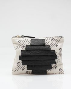 Printed Canvas Pouch from Collina Strada / Need Supply Co.