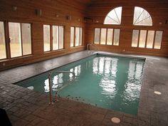 Gunite Indoor Pool with Auto Cover by aspools, via Flickr