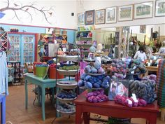The Stitchin Post, in Sisters Oregon, really fun shop with more than just fabrics.