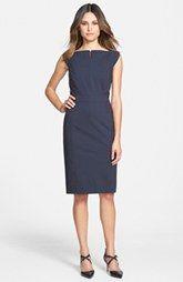 Classiques Entier® 'Julie' Wool Suiting Sheath Dress