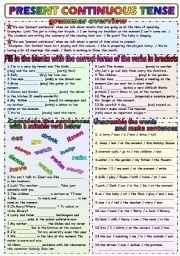 simple present tense exercises worksheets - Tìm với Google