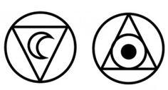 Alchemy - Water - Moon (Luna) - Silver; Fire - Sun (Sol) - Gold