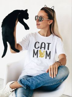 bb958eba 11 Best Cat Mom images in 2019 | Mom shirts, Dog mom, Band mom