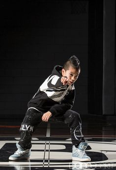 Alex Rubiano, 11, of The Brooklyn Nets Kids (Photo by Erin Baiano for Dance Spirit)