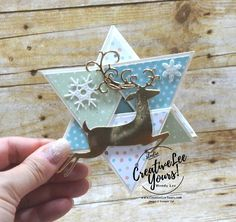 Christmas Star Fun Fold by Carol Curren, wendy lee, Stampin Up! Religious Christmas Cards, Christmas Tree Cards, Christmas Star, Xmas Cards, Fun Cards, Christmas Dishes, Cards Diy, Homemade Christmas Cards, Homemade Cards