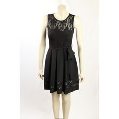 Stunning Black Cocktail Dress from Guess. The dress has lace trim and is fully lined. Black Lace Cocktail Dress, Hot Dress, Exclusive Collection, Lace Trim, Designer Dresses, Formal Dresses, Jackets, Tops, Fashion