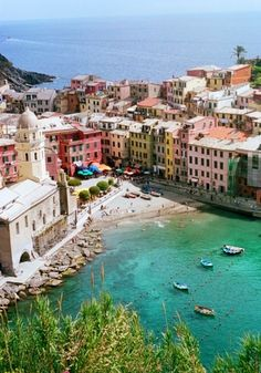 Candy beach in Italy