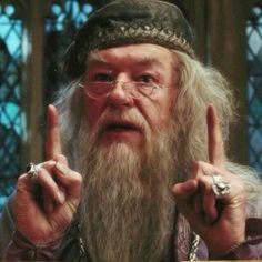 Can someone make a gif/video of Dumbledore moving his hands side to side??