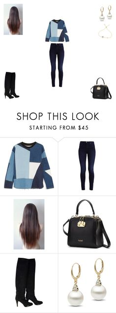 """Untitled #173"" by monroden on Polyvore featuring Victoria, Victoria Beckham e Baldinini"