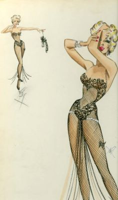 Designer William Travilla for Marilyn Monroe