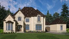 Meet our newest home- The Lilly Rose House Plan! - http://www.archivaldesigns.com/home-plans/lily-rose-house-plan